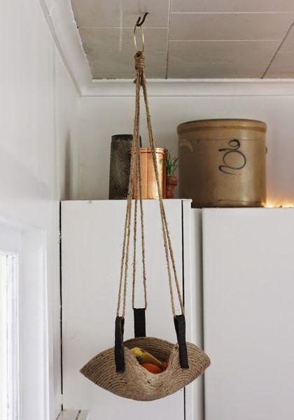 Faça esta fruteira artesanal também para vender e conseguir aumentar a sua renda no final do mês (Foto: poppytalk.com)