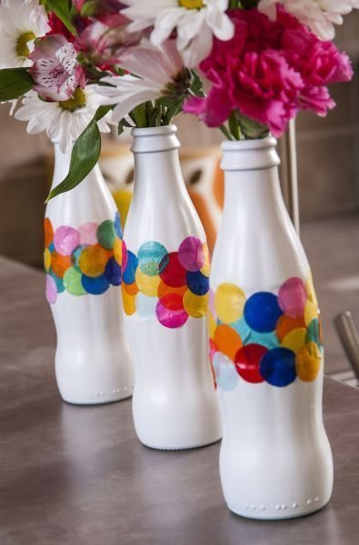 Invista sem medos em artesanato simples com garrafa de vidro (Foto: modpodgerocksblog.com)