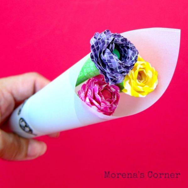 Artesanato simples com lápis ou caneta pode ter as cores ou as estampas de sua preferência (Foto: morenascorner.com)