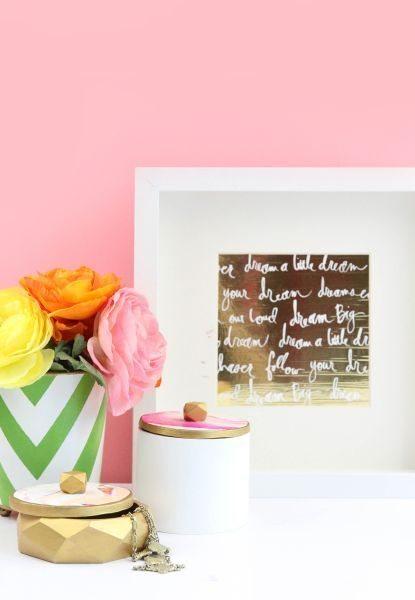 Este artesanato com argila colorida é lindo e sofisticado (Foto: damasklove.com)