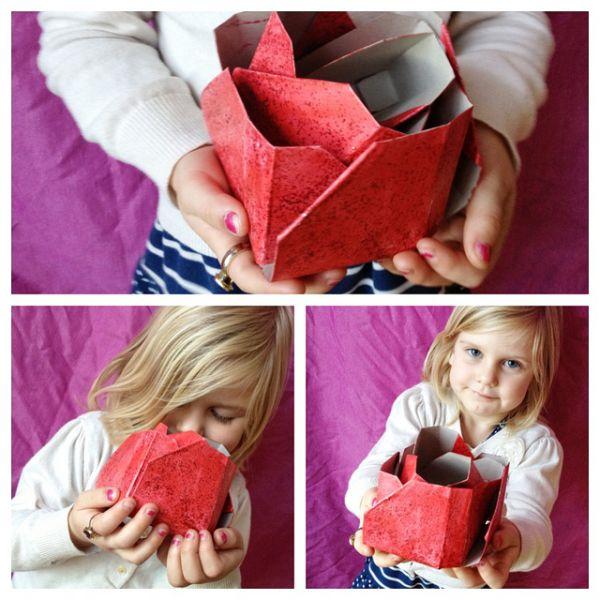 Faça este artesanato com caixa de papel para decorar as suas festas, o resultado será o sucesso (Foto: thesoutherninstitute.com)