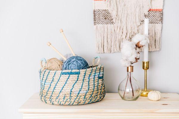 Artesanato com corda é lindo e útil (Foto: thehousethatlarsbuilt.com)