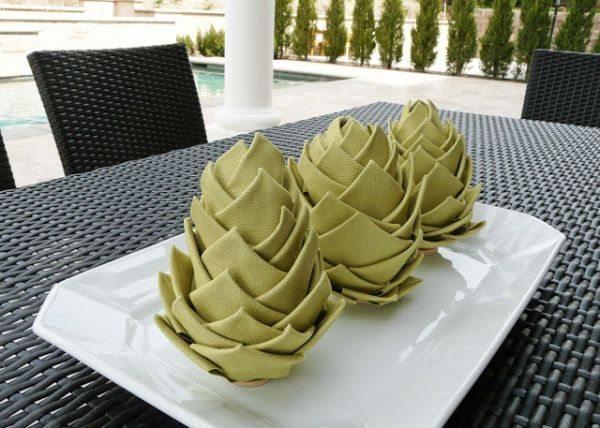 Este artesanato para centro de mesa é também sustentável (Foto: blissbloomblog.com)