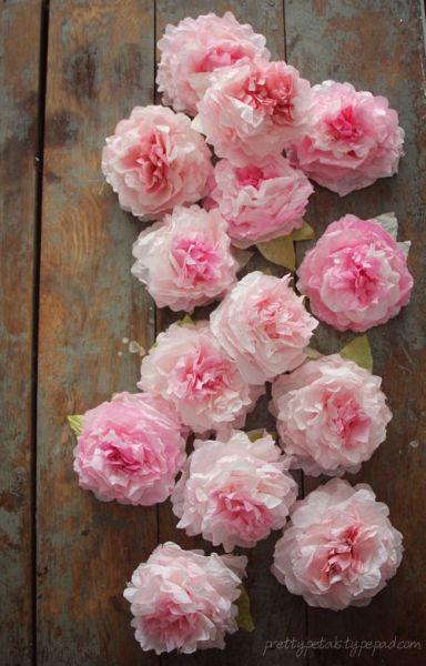 Rosas de seda são lindas e fáceis de serem conseguidas (Foto: prettypetals.typepad.com)