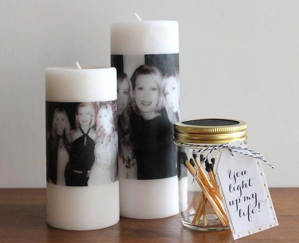 Transfer ncia de foto em vela passo a passo artesanato - Transferir fotos a velas ...