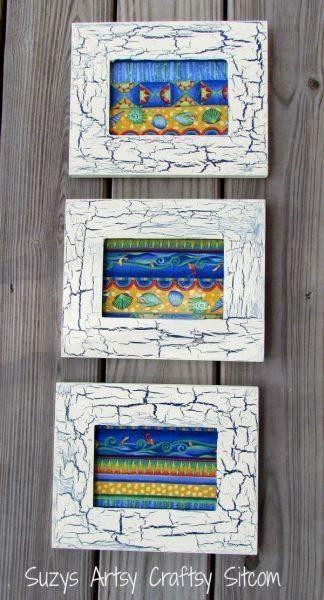 Este artesanato craquelê é feito de maneira bem simples (Foto: suzyssitcom.com)