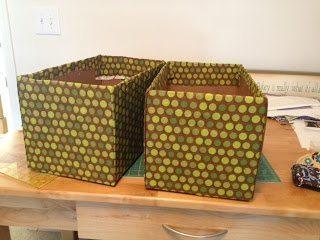 Artesanato com caixa de fralda é lindo, útil e ainda sustentável (Foto: lizziemerin.blogspot.com.br)