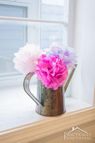 Estas lindas flores decorativas podem frequentar qualquer ambiente (Foto: practicallyfunctional.com)