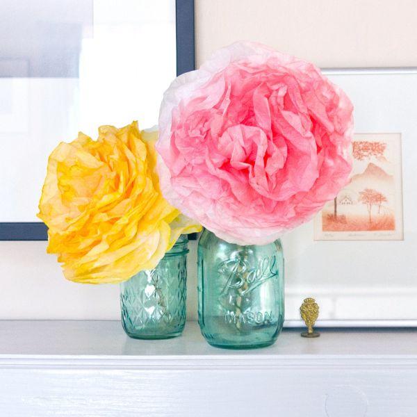 Flores com forminhas de papel para docinhos são lindas e todos adoram (Foto: popsugar.com)