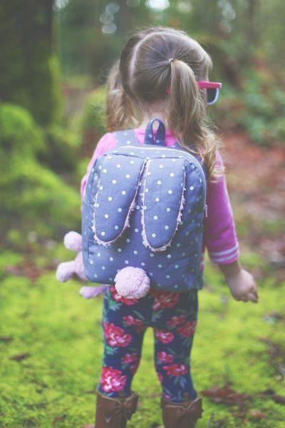 Mochila infantil divertida é encantadora e todos gostam (Foto: sewmuchado.com)