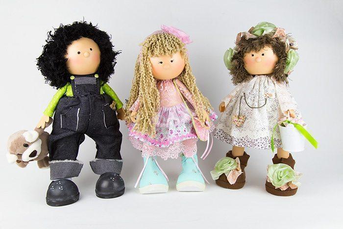 bonecas de EVA articuladas
