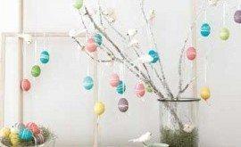 Árvore de Ovo de Páscoa Passo a Passo