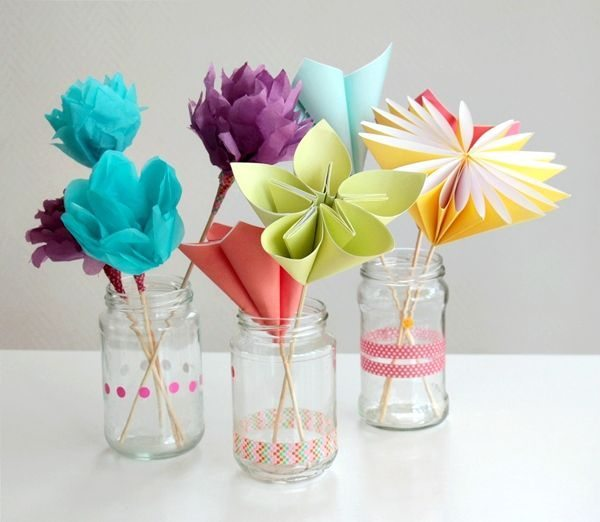 Este lindo buquê de flores de papel para dia das mães também pode decorar festas (Foto: crafts.tutsplus.com)