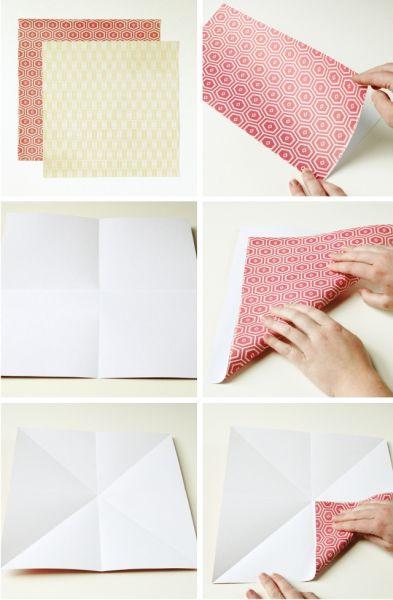 Artesanato Dos Estados Unidos ~ Caixinha de Origami Fácil de Fazer Passo a Passo Artesanato Passo a Passo!