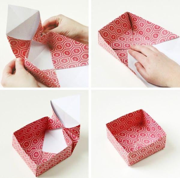 Caixinha de Origami Fácil de Fazer Passo a Passo Artesanato Passo a Passo!