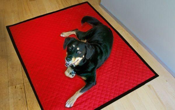 Cobertor para cães é útil e lindo e faz a alegria do seu pet (Foto: merrimentdesign.com)