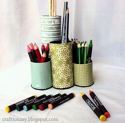 Faça já um organizador de rolo de papel para você (Foto: craftionary.net)