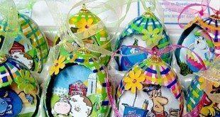 Ovinhos Decorativos para Páscoa Passo a Passo