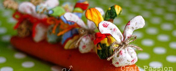 Sachê de páscoa é lindo e fofo (Foto: craftpassion.com)