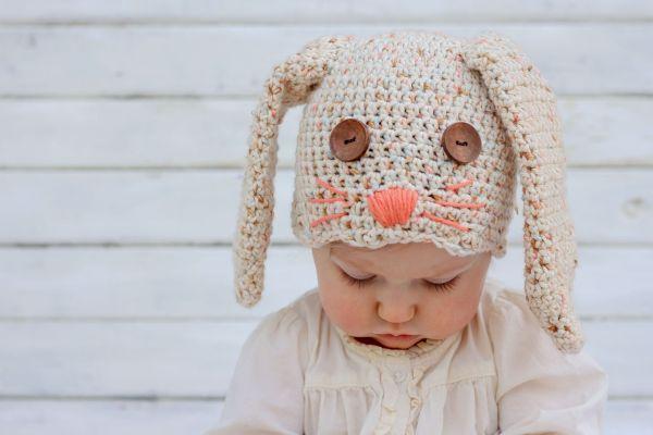 Touca de coelho é fofa e as crianças adoram (Foto: makeanddocrew.com)