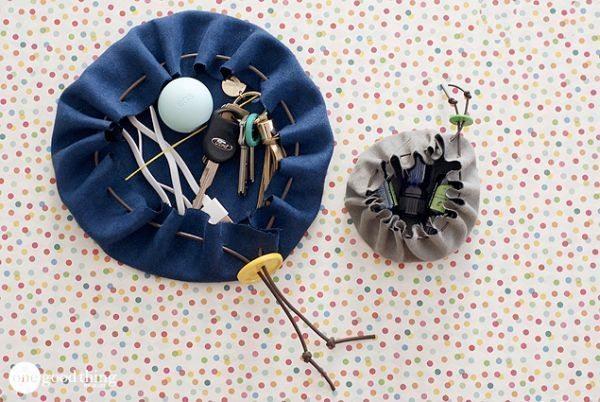 Bolsinhas porta chaves são charmosas e úteis (Foto: onegoodthingbyjillee.com)