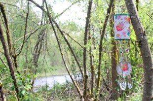 Enfeite para jardim com reciclagem de latas é diferente e sustentável (Foto: punkprojects.com)