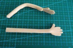 Esta estrutura básica para fofucha pode resultar nas mais diversas bonecas (Foto: manualidades.facilisimo.com)