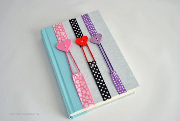 Este marcador de livro é diferente e pode ter diversas combinações de materiais em sua estrutura (Foto: sparklesofsunshine.com)