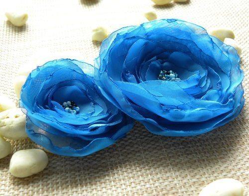 Rosas de organza são lindas e versáteis (Foto: srebrnaagrafka.pl)