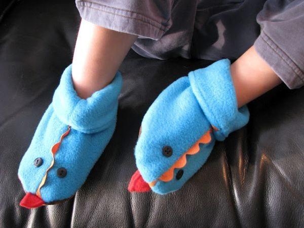 Este sapatinho para bebê divertido faz muito sucesso por onde passa (Foto: cluclu.ru)