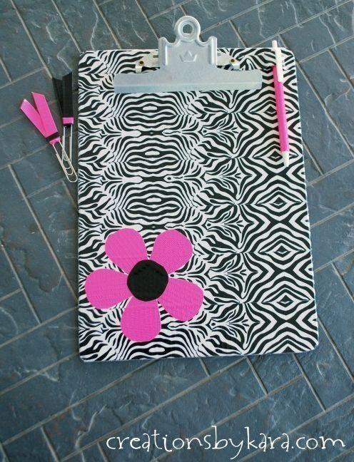 Invista já em decoração de prancheta (Foto: creationsbykara.com)