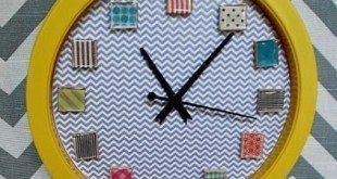Decoração para Relógio de Parede Passo a Passo