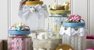 Decorando potinhos de vidro a sua casa vai ficar mais linda (Foto: modpodgerocksblog.com)