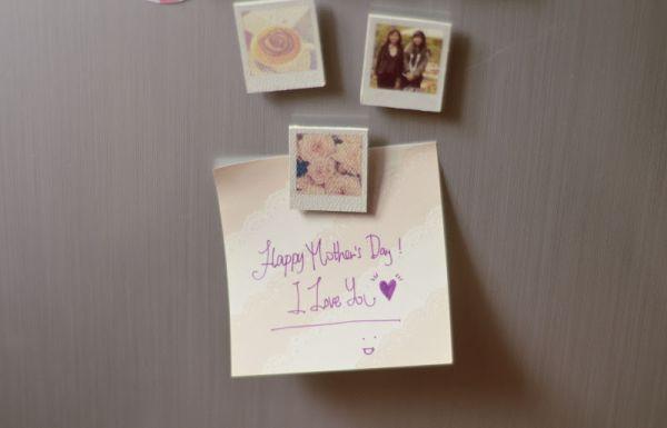 Faça muitos deste imã personalizado para dia das mães (Foto: sundaesins.blogspot.com.br)