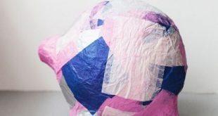 Porquinho de Material Reciclado Passo a Passo