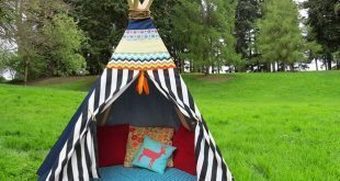 Tenda infantil diverte e decora qualquer ambiente (Foto: ehow.com)