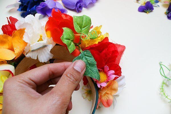 Arco Decorado com Flores