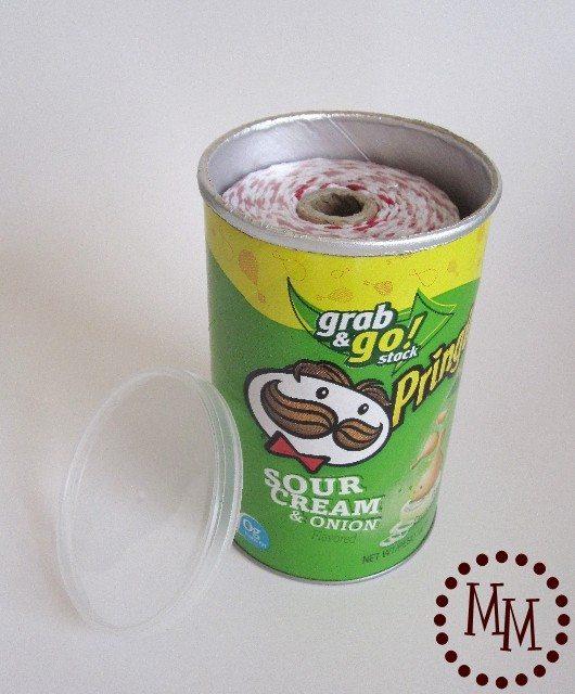Passo a Passo de Artesanato com Pote de Pringles