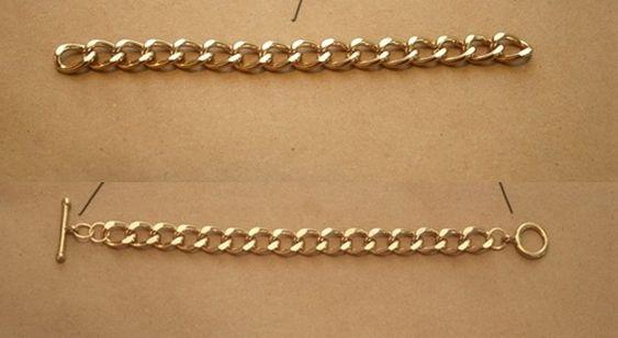 Bracelete de Crochê