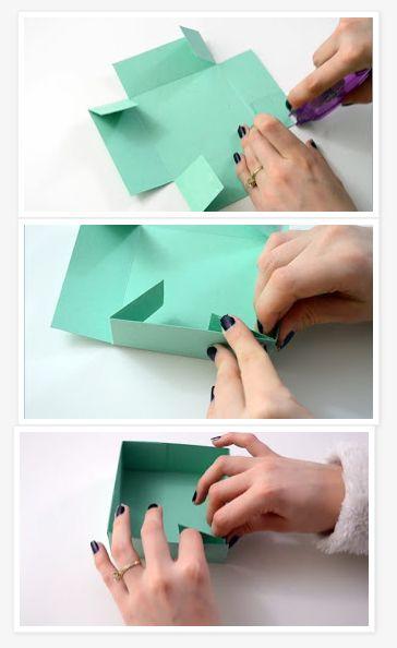 Caixa Simples de Papel
