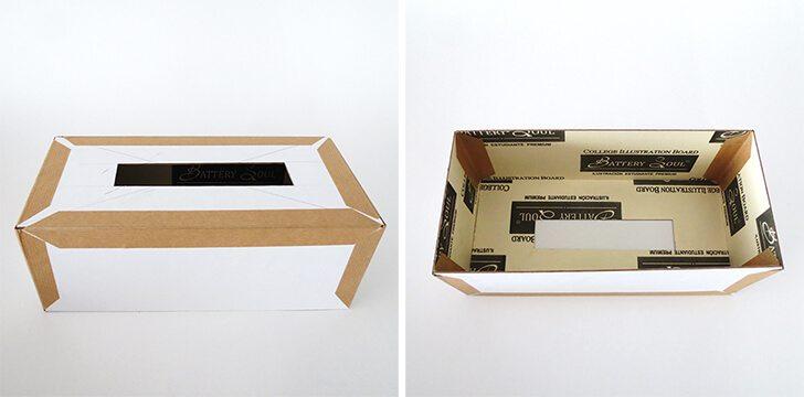 Caixa de Lenço Decorada