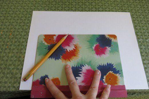 Aprenda como Fazer Capa de Caderno em Papel