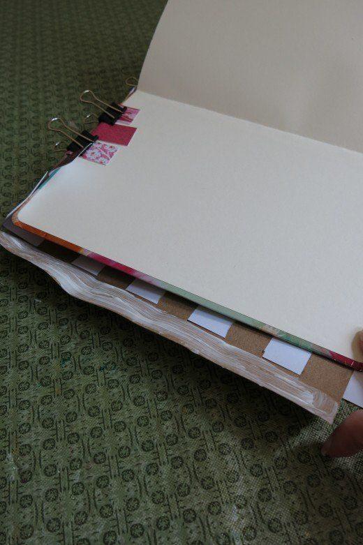 Capa de Caderno em Papel