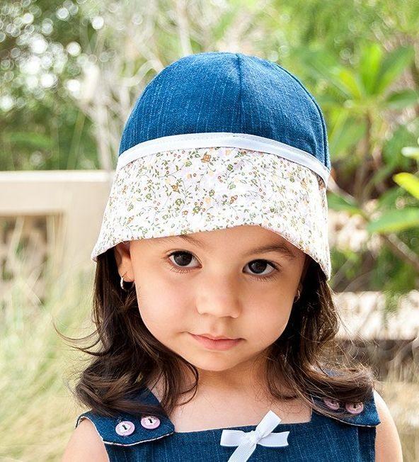 Chapéu Infantil de Tecido