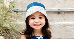 Chapéu Infantil de Tecido Passo a Passo