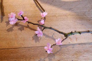 Como Fazer Flor Cerejeira Passo a Passo