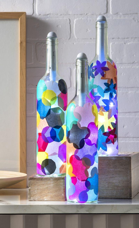 Armario Com Espelho Para Banheiro Na Leroy Merlin ~ Reciclagem com Garrafas Passo a Passo Artesanato Passo a Passo!