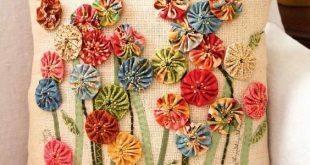 Artesanatos com fuxico são lindos e divertidos (Foto: pinterest.com)