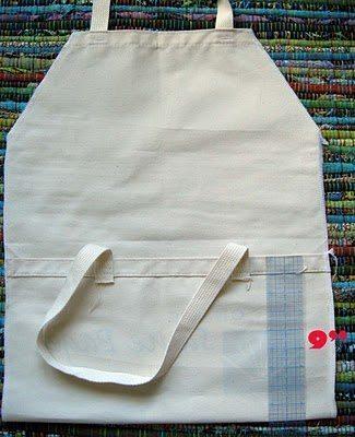 Avental de Ecobag
