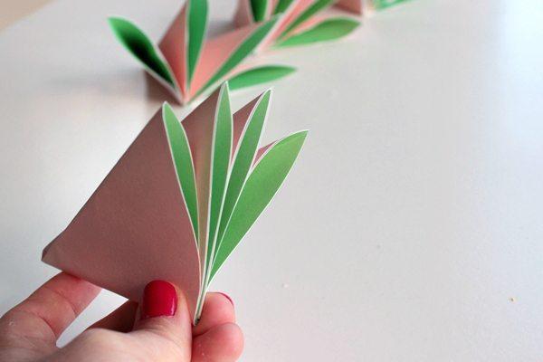 Buquê com Flores de Origami